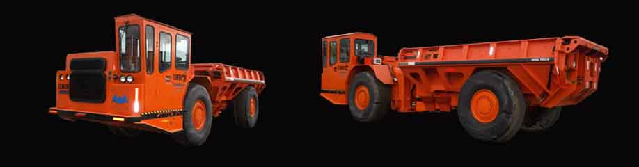 TRIDENT 30 TON HAUL TRUCK WITH ROPS/FOPS CAB AND ARCTIC PACKAGE